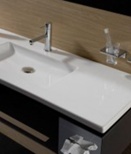 Choose The Single Faucet Model And Keep This Sweet Piece All To Yourself,  Or Choose The Two Faucet Double Basin Design. Check Out These Flat Sinks By  ...