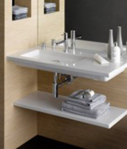 Gentil Choose The Single Faucet Model And Keep This Sweet Piece All To Yourself,  Or Choose The Two Faucet Double Basin Design. Check Out These Flat Sinks By  ...