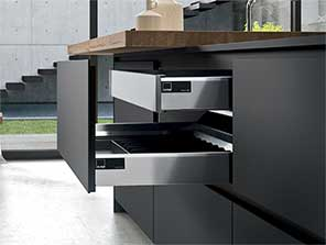 innovative fenix ntm surface treatment for kitchens. Black Bedroom Furniture Sets. Home Design Ideas