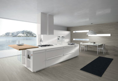 The AK05 kitchen range features an elegant and classic feel