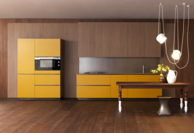 Yellow Effeti E0 kitchen cabinets