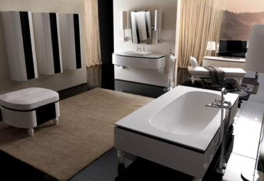 The ultra-indulgent Bania bathroom collection