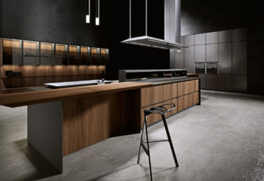 Arrital's AKB_08 range of kitchen cabinetry