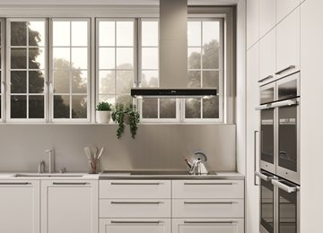 the Arrital Gallery cabinetry range featuring a classic hamptons style