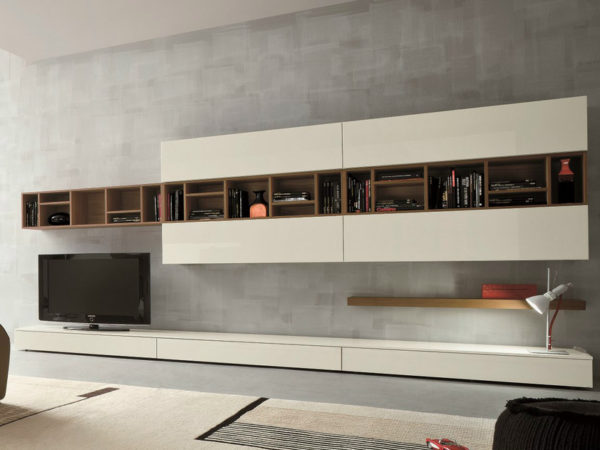 D'allagnese SLIM TV Wall Cabinetry