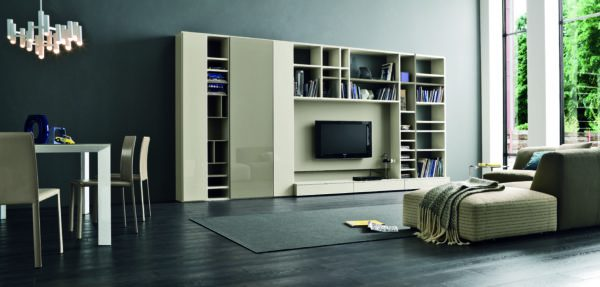 D'allagnese SPEED TV Wall Cabinetry
