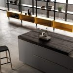 Luce Italian kitchen cabinetry