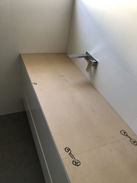 bench top template