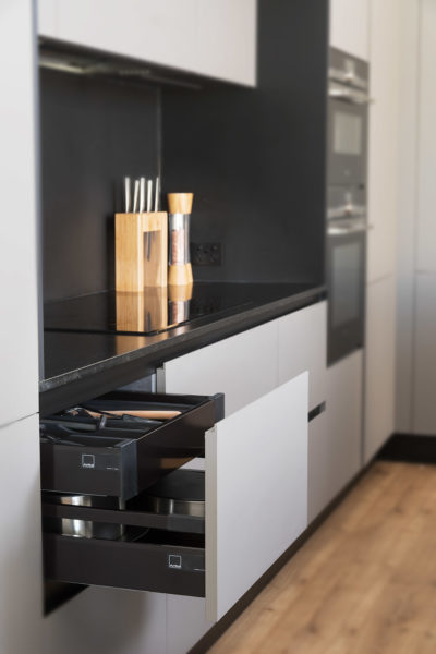 Arrital cabinetry with Blum hardware
