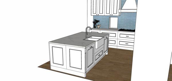kitchen renovation drawings