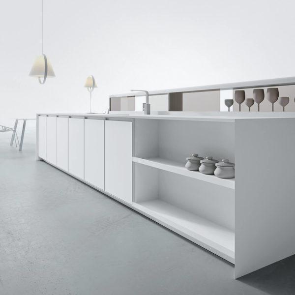Ak_B08 with Bianco Frame and Case Storage