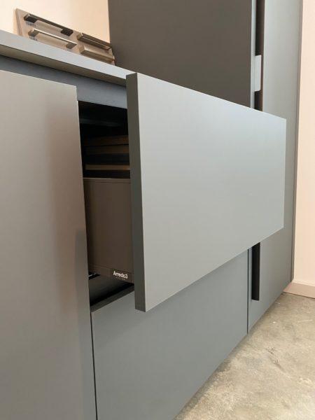 Arredo3 Verde Comodoro Fenix cabinetry