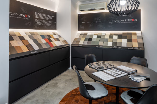Material Selections & Meeting Room